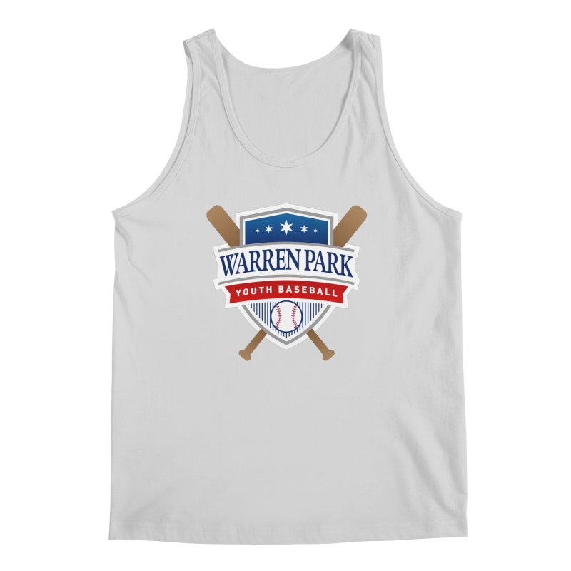 Warren Park Youth Baseball Logo - Full Color Men's Regular Tank by Warren Park Youth Baseball, Rogers Park Chicago