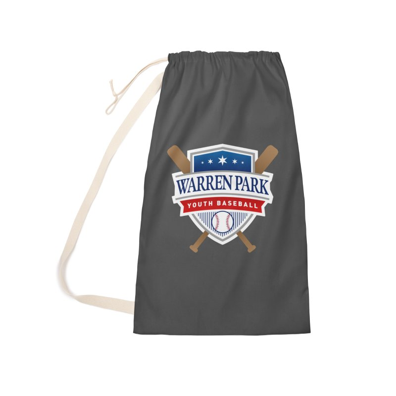 Warren Park Youth Baseball Logo - Full Color Accessories Laundry Bag Bag by Warren Park Youth Baseball, Rogers Park Chicago