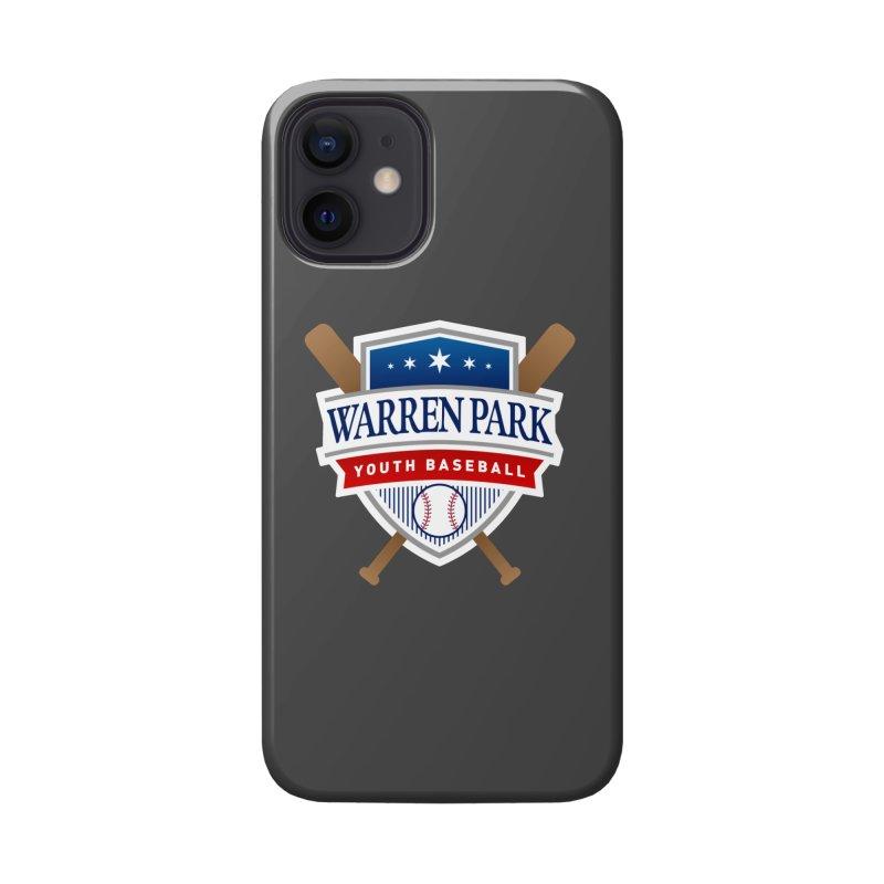 Warren Park Youth Baseball Logo - Full Color Accessories Phone Case by Warren Park Youth Baseball, Rogers Park Chicago