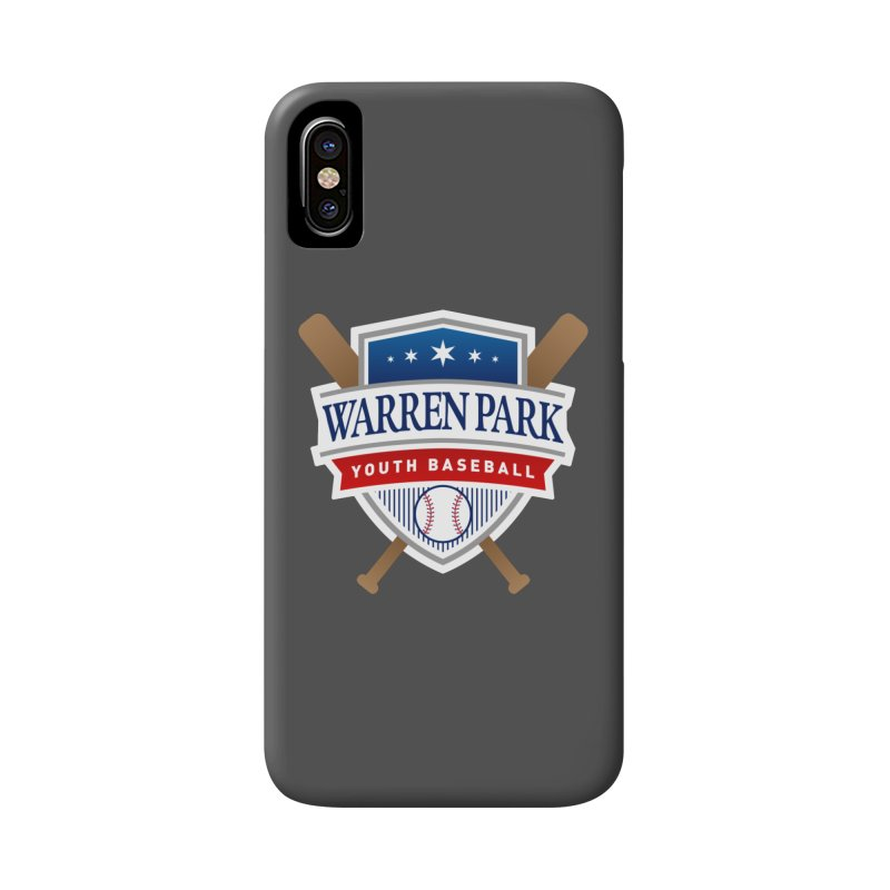 Warren Park Youth Baseball Logo - Full Color Accessories Phone Case by Warren Park Youth Baseball, Rogers Park Chicago