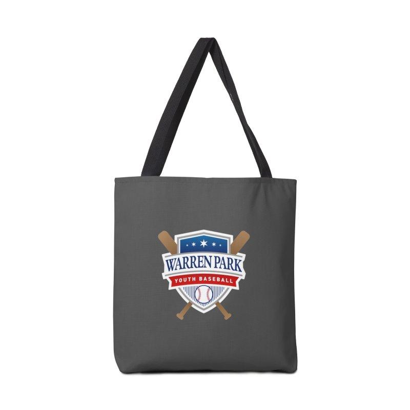 Warren Park Youth Baseball Logo - Full Color Accessories Bag by Warren Park Youth Baseball, Rogers Park Chicago