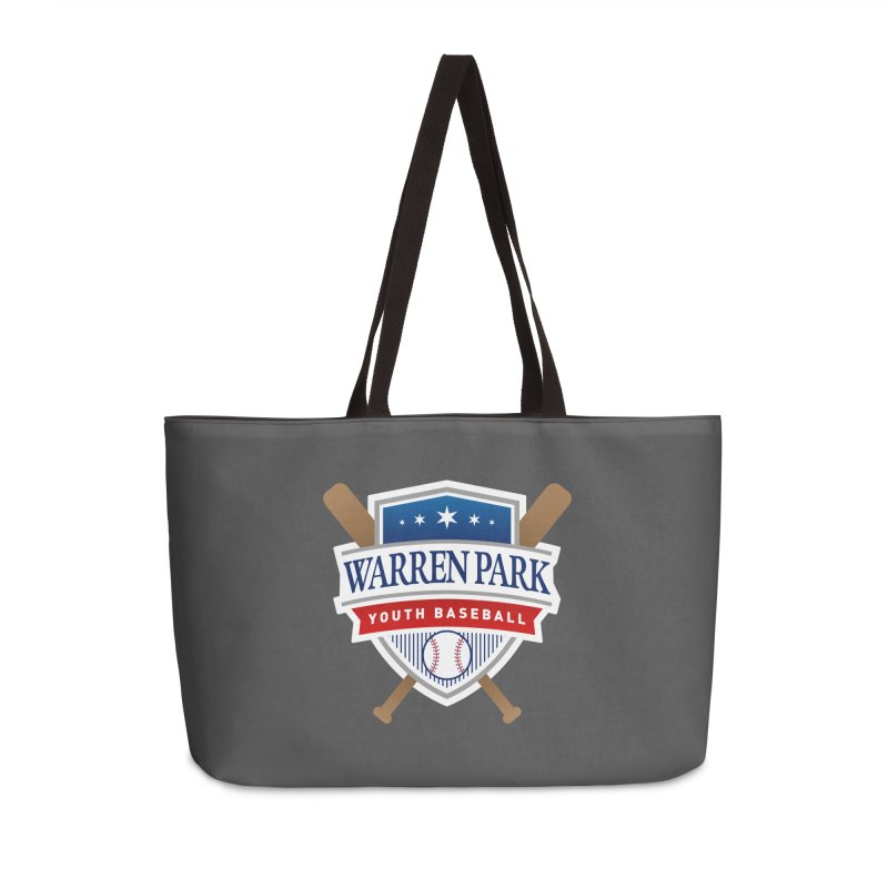 Warren Park Youth Baseball Logo - Full Color Accessories Weekender Bag Bag by Warren Park Youth Baseball, Rogers Park Chicago