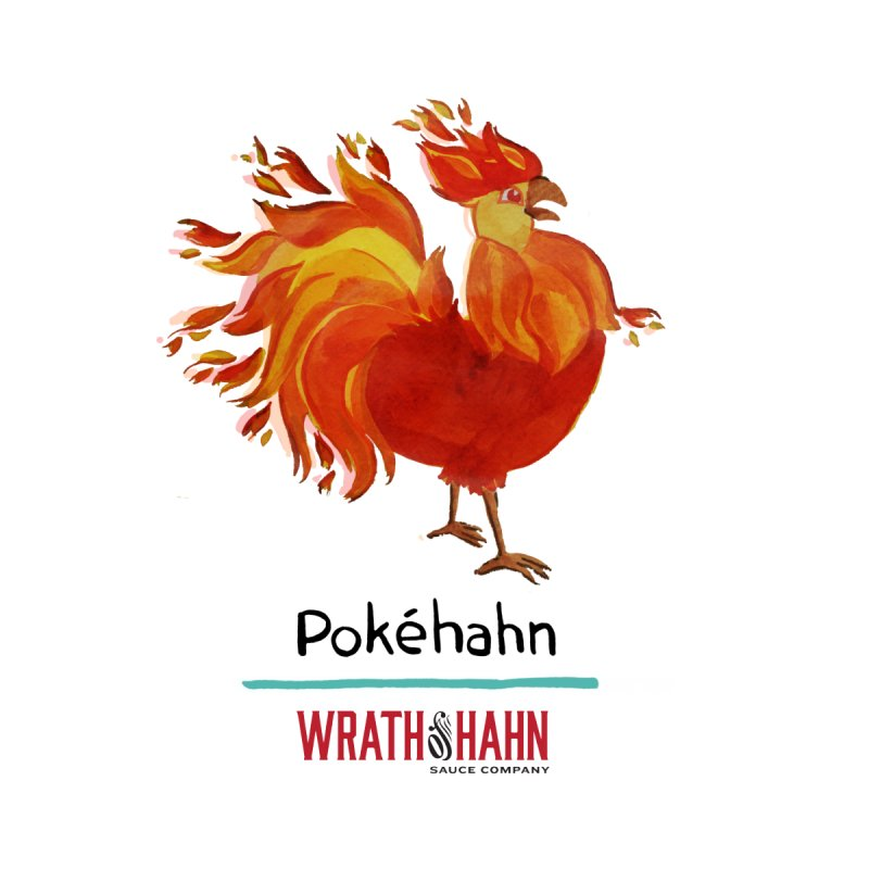 Pokéhahn Kids T-Shirt by wrathofhahn's Artist Shop