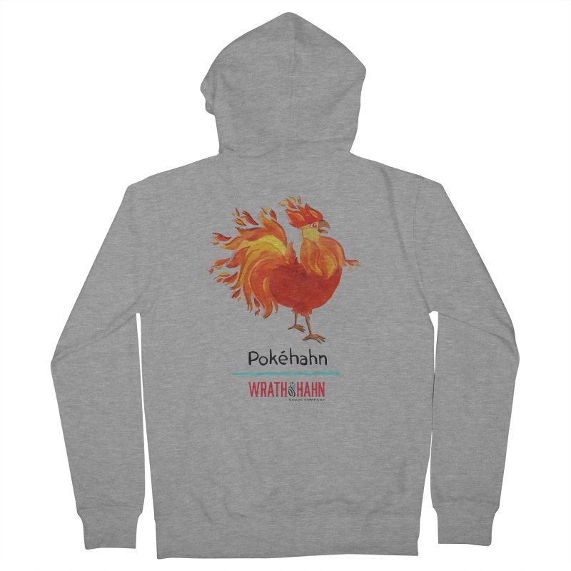 Pokéhahn Men's French Terry Zip-Up Hoody by wrathofhahn's Artist Shop