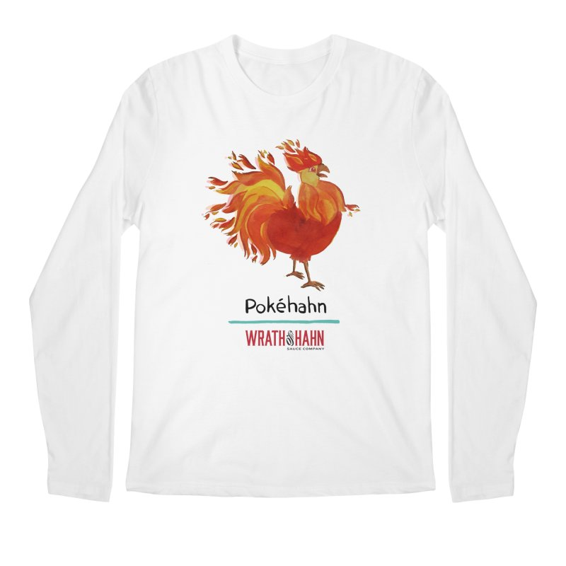 Pokéhahn Men's Regular Longsleeve T-Shirt by wrathofhahn's Artist Shop