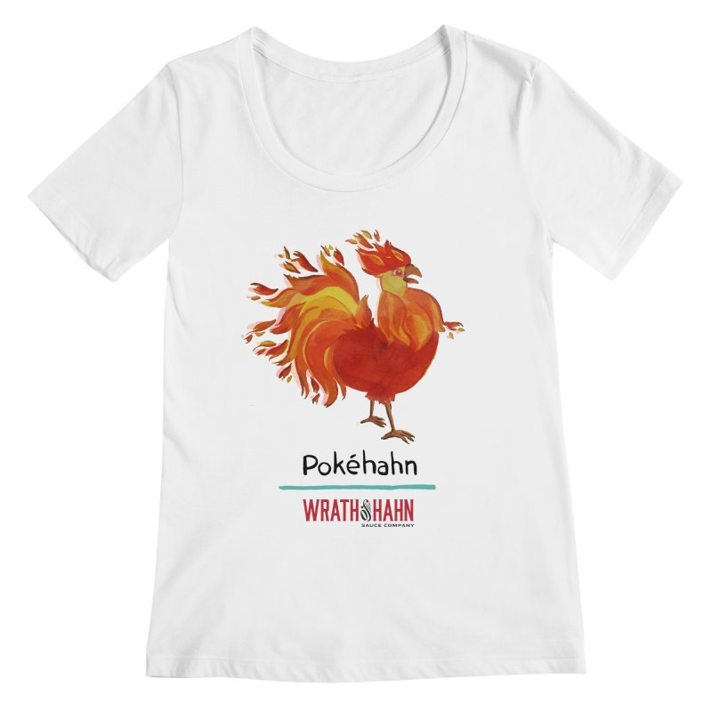 Pokéhahn Women's Scoopneck by wrathofhahn's Artist Shop