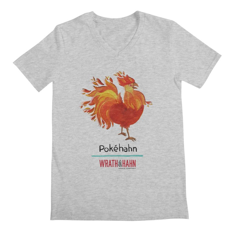 Pokéhahn Men's V-Neck by wrathofhahn's Artist Shop