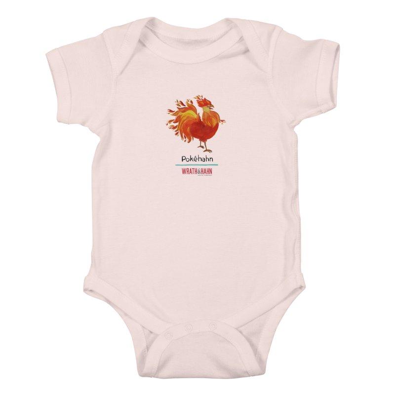 Pokéhahn Kids Baby Bodysuit by wrathofhahn's Artist Shop