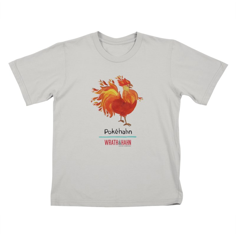 Pokéhahn Kids T-shirt by wrathofhahn's Artist Shop