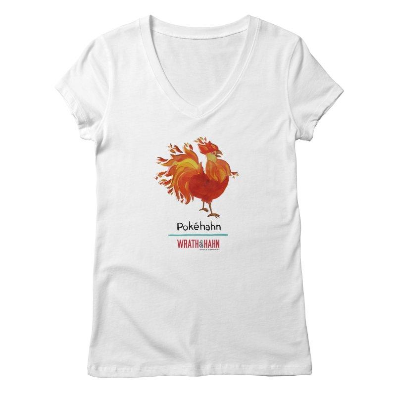 Pokéhahn Women's Regular V-Neck by wrathofhahn's Artist Shop