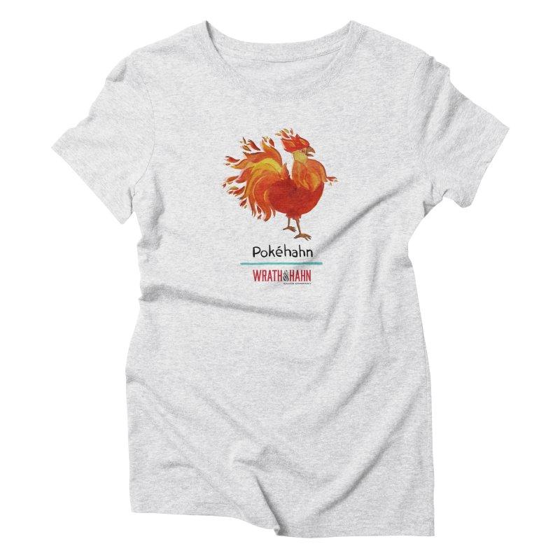 Pokéhahn Women's Triblend T-shirt by wrathofhahn's Artist Shop