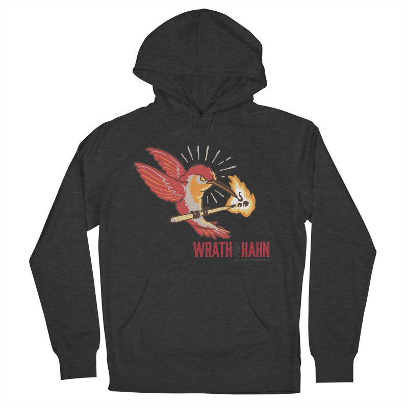 Hot Hummingbird Women's French Terry Pullover Hoody by wrathofhahn's Artist Shop