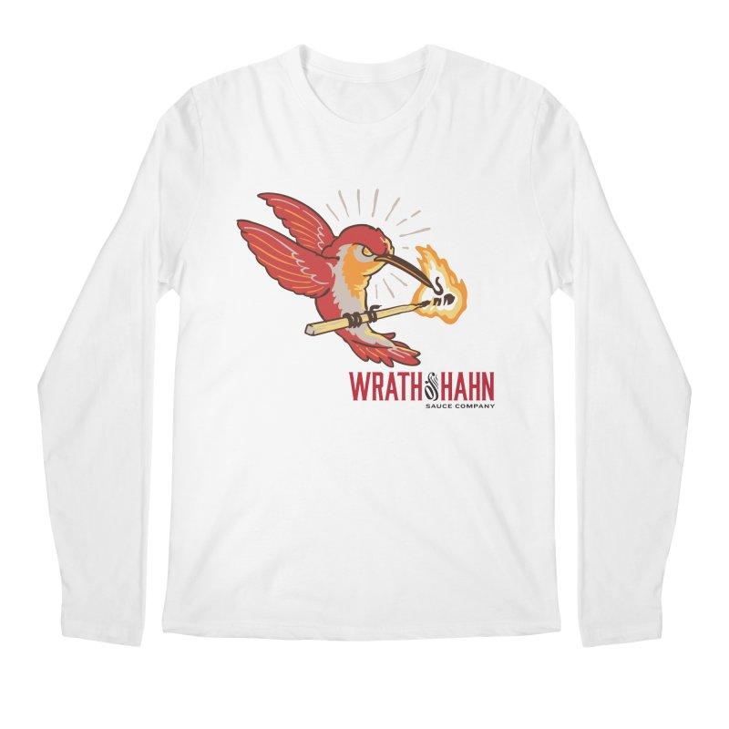Hot Hummingbird Men's Regular Longsleeve T-Shirt by wrathofhahn's Artist Shop