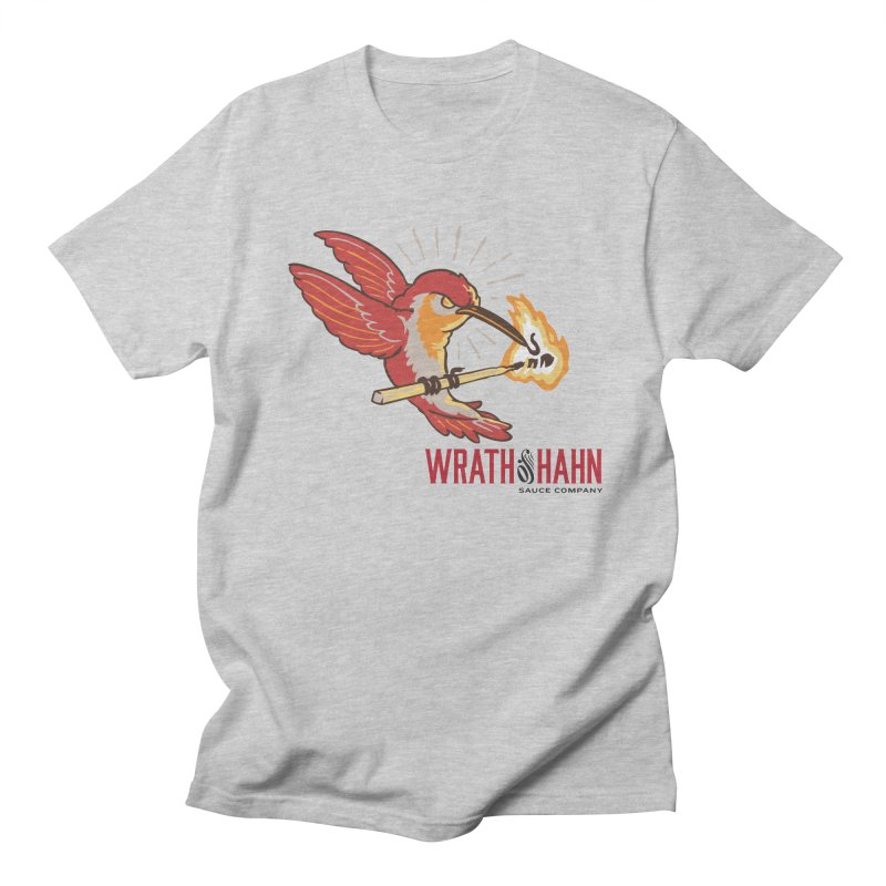 Hot Hummingbird Men's Regular T-Shirt by wrathofhahn's Artist Shop