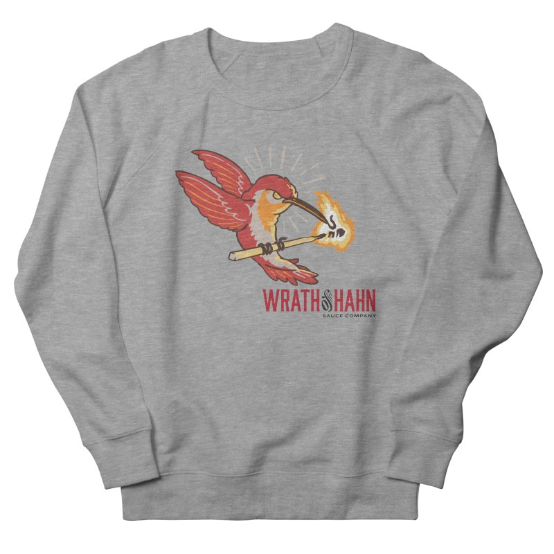 Hot Hummingbird Men's Sweatshirt by wrathofhahn's Artist Shop