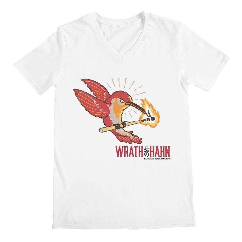 Hot Hummingbird Men's Regular V-Neck by wrathofhahn's Artist Shop