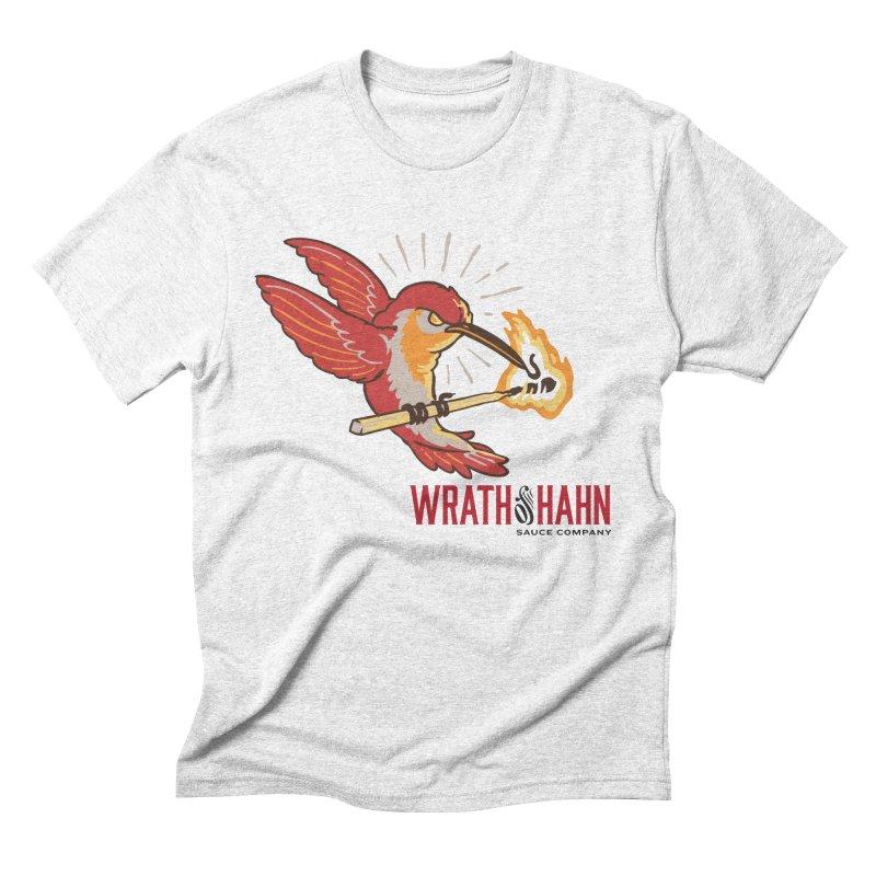 Hot Hummingbird Men's Triblend T-shirt by wrathofhahn's Artist Shop
