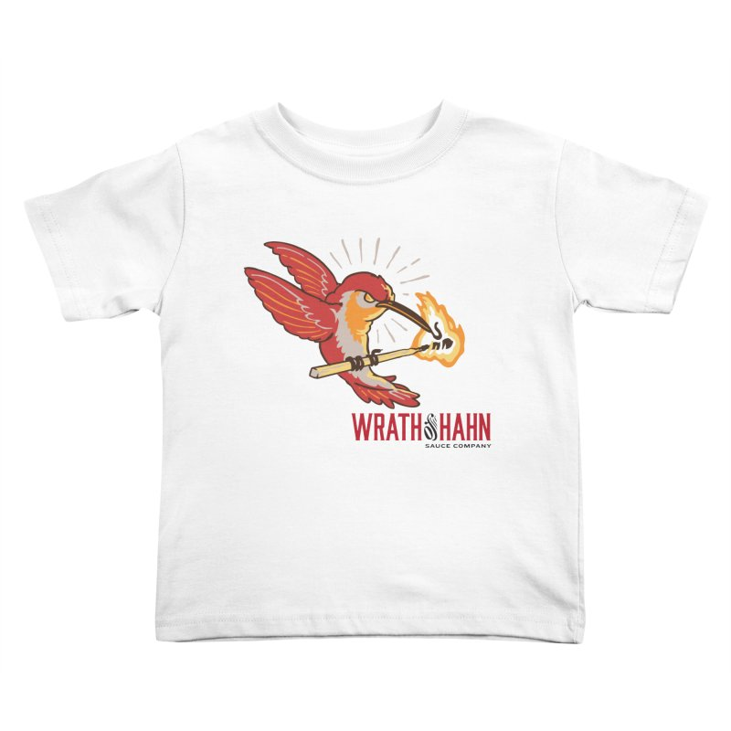 Hot Hummingbird Kids Toddler T-Shirt by wrathofhahn's Artist Shop