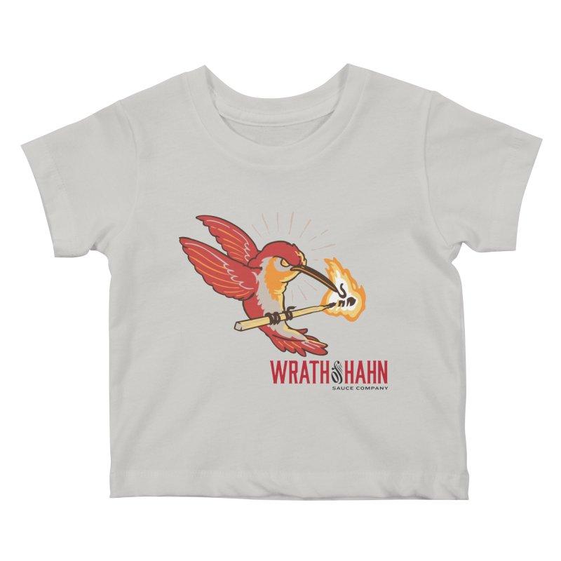 Hot Hummingbird Kids Baby T-Shirt by wrathofhahn's Artist Shop