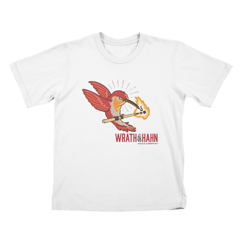 Hot Hummingbird Kids T-Shirt by wrathofhahn's Artist Shop