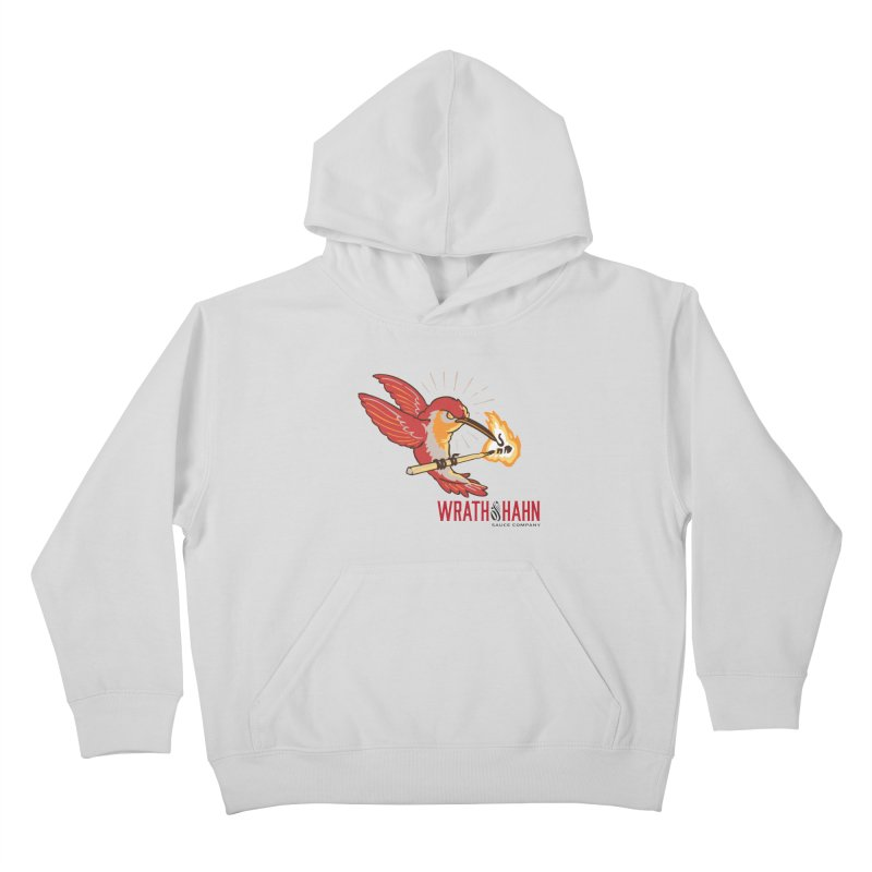Hot Hummingbird Kids Pullover Hoody by wrathofhahn's Artist Shop