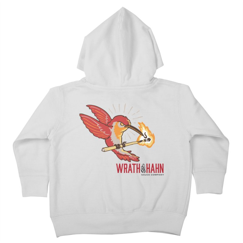 Hot Hummingbird Kids Toddler Zip-Up Hoody by wrathofhahn's Artist Shop