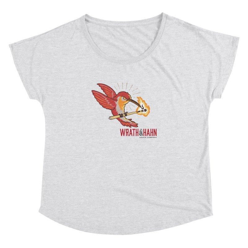 Hot Hummingbird Women's Dolman by wrathofhahn's Artist Shop