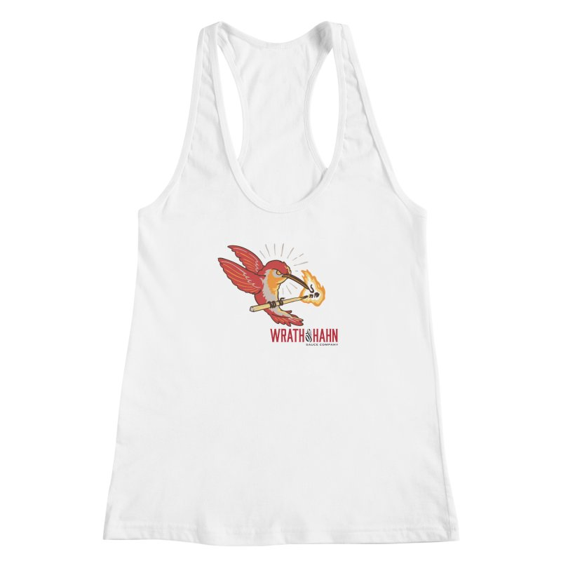 Hot Hummingbird Women's Racerback Tank by wrathofhahn's Artist Shop