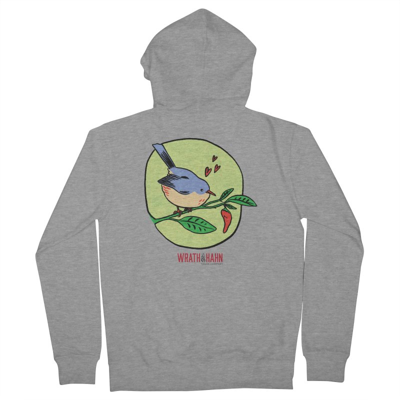 Love at First Sight Women's French Terry Zip-Up Hoody by wrathofhahn's Artist Shop