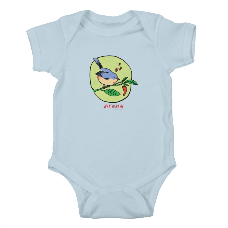 Love at First Sight Kids Baby Bodysuit by wrathofhahn's Artist Shop
