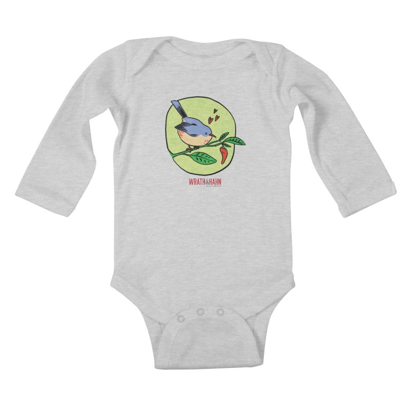 Love at First Sight Kids Baby Longsleeve Bodysuit by wrathofhahn's Artist Shop