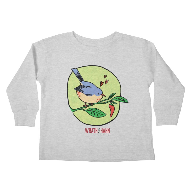 Love at First Sight Kids Toddler Longsleeve T-Shirt by wrathofhahn's Artist Shop