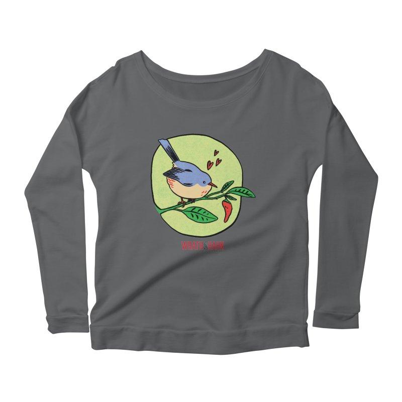 Love at First Sight Women's Scoop Neck Longsleeve T-Shirt by wrathofhahn's Artist Shop
