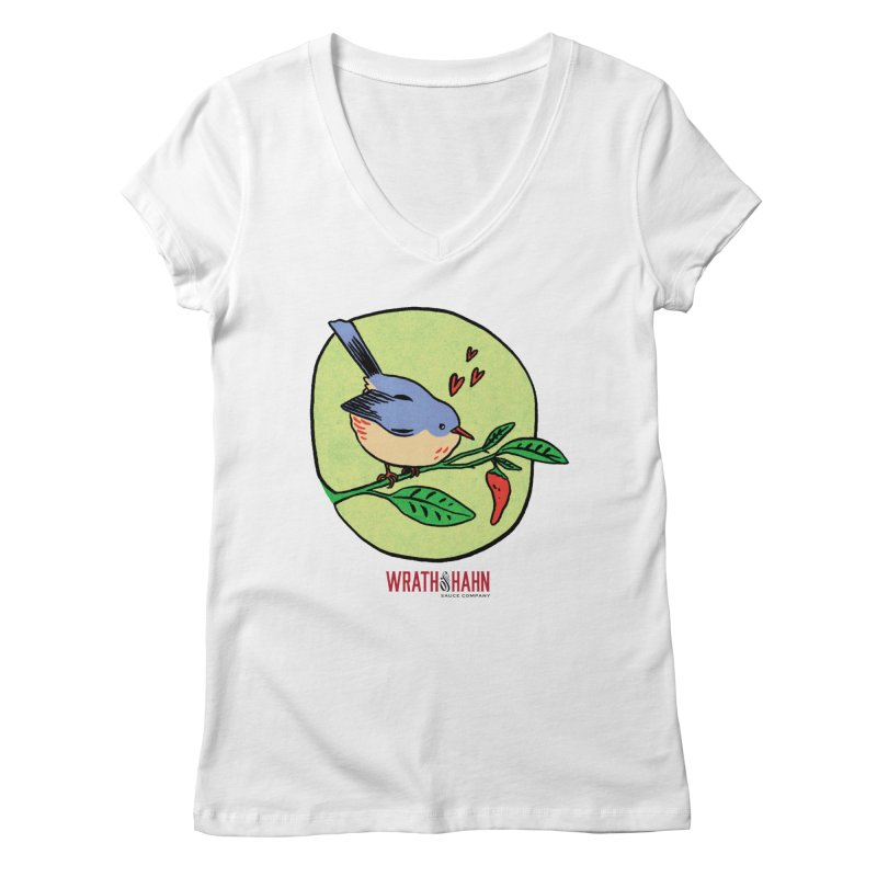 Love at First Sight Women's V-Neck by wrathofhahn's Artist Shop
