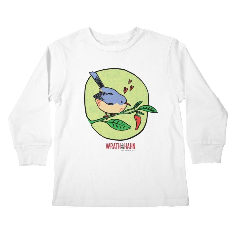 Love at First Sight Kids Longsleeve T-Shirt by wrathofhahn's Artist Shop