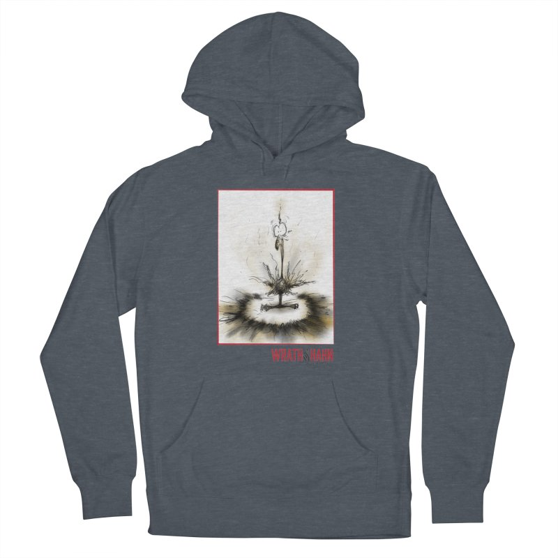 KaboomBirdie Women's French Terry Pullover Hoody by wrathofhahn's Artist Shop