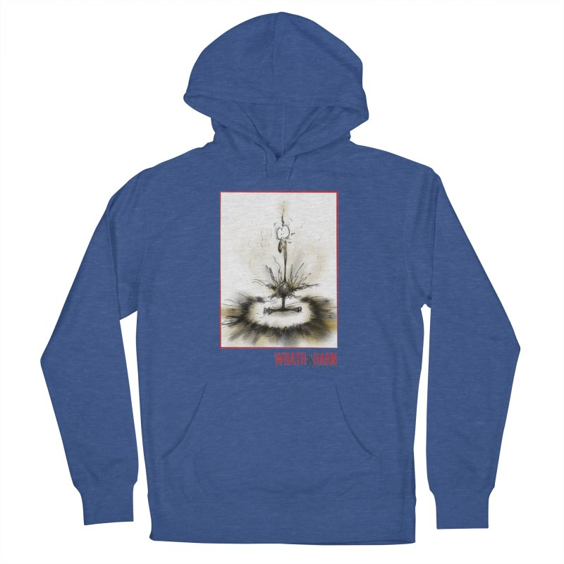KaboomBirdie Men's French Terry Pullover Hoody by wrathofhahn's Artist Shop