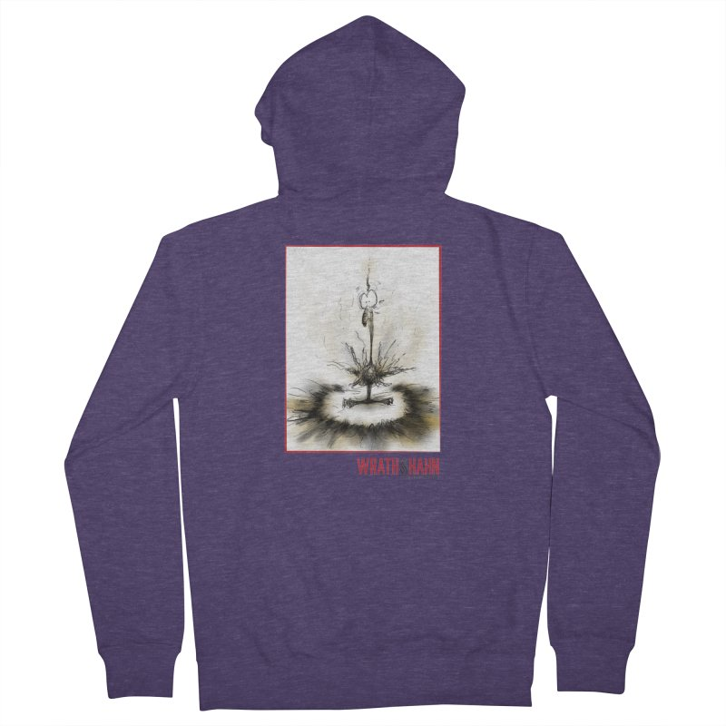 KaboomBirdie Men's French Terry Zip-Up Hoody by wrathofhahn's Artist Shop