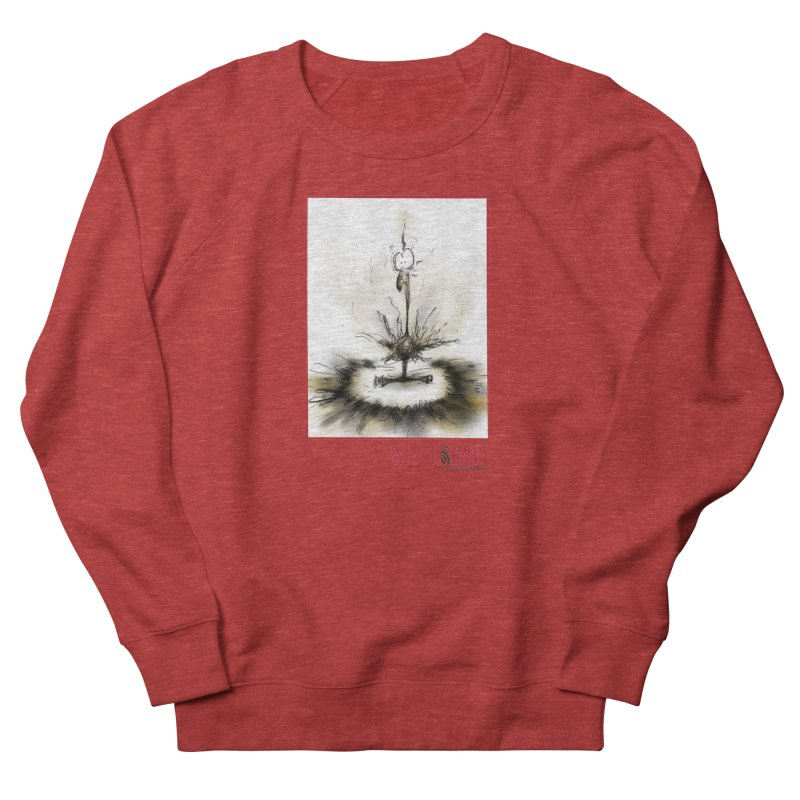 KaboomBirdie Women's French Terry Sweatshirt by wrathofhahn's Artist Shop