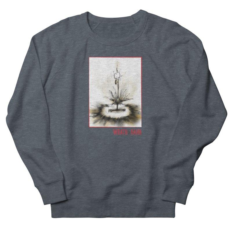 KaboomBirdie Men's French Terry Sweatshirt by wrathofhahn's Artist Shop