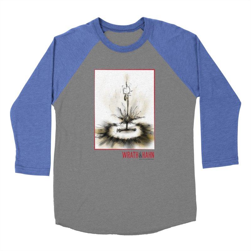 KaboomBirdie Men's Baseball Triblend T-Shirt by wrathofhahn's Artist Shop
