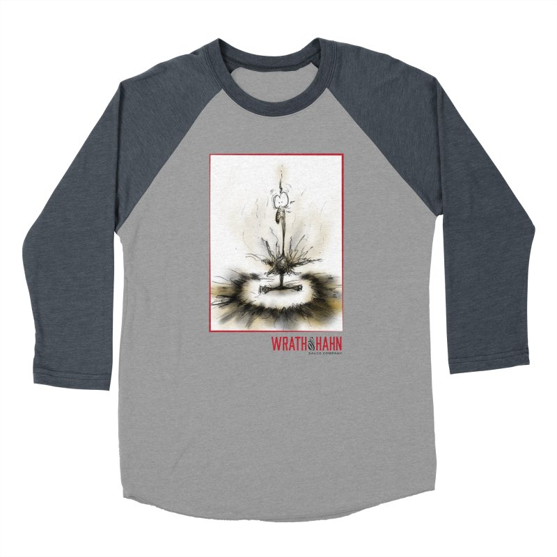 KaboomBirdie Men's Baseball Triblend Longsleeve T-Shirt by wrathofhahn's Artist Shop