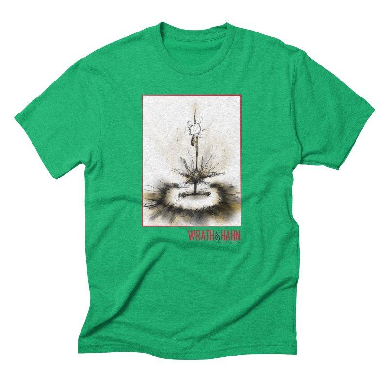 KaboomBirdie Men's Triblend T-shirt by wrathofhahn's Artist Shop