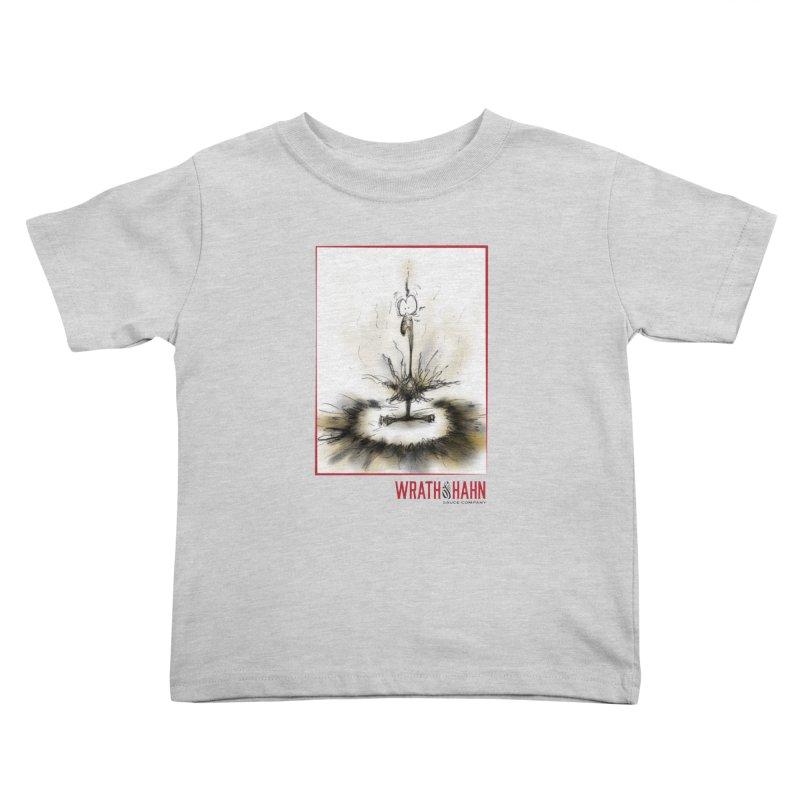 KaboomBirdie Kids Toddler T-Shirt by wrathofhahn's Artist Shop