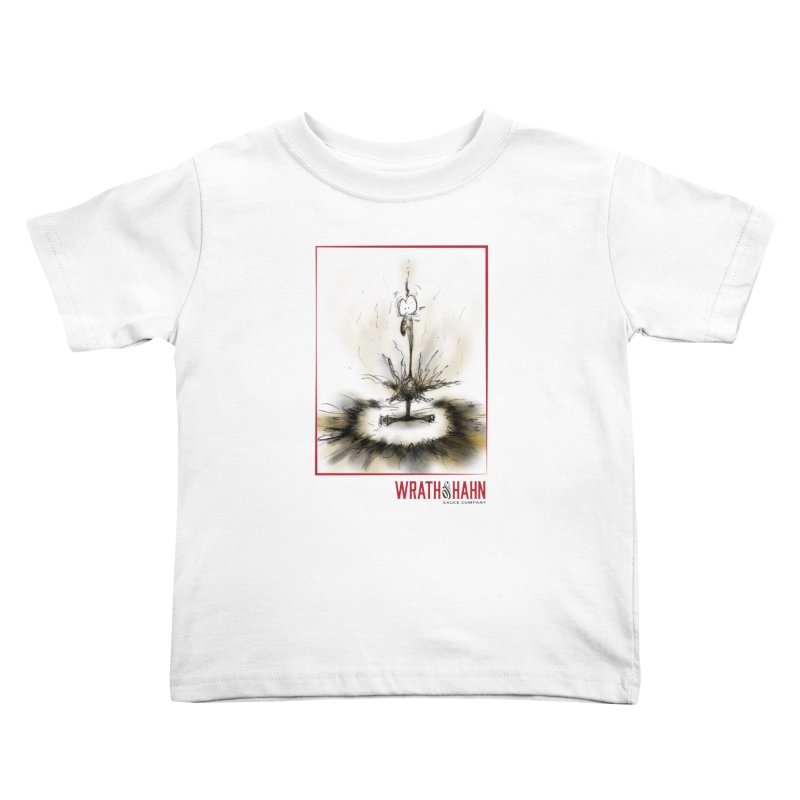 KaboomBirdie Kids Toddler T-Shirt by wrathofhahn's Artist Shop