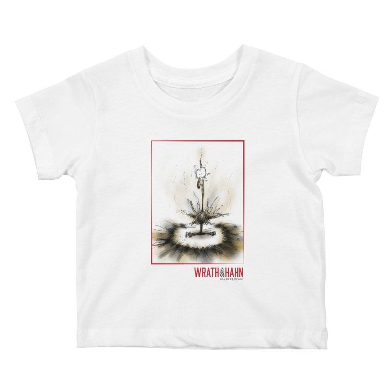 KaboomBirdie Kids Baby T-Shirt by wrathofhahn's Artist Shop