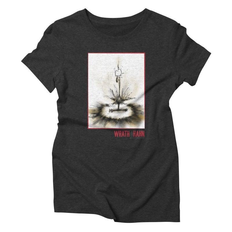 KaboomBirdie Women's Triblend T-Shirt by wrathofhahn's Artist Shop