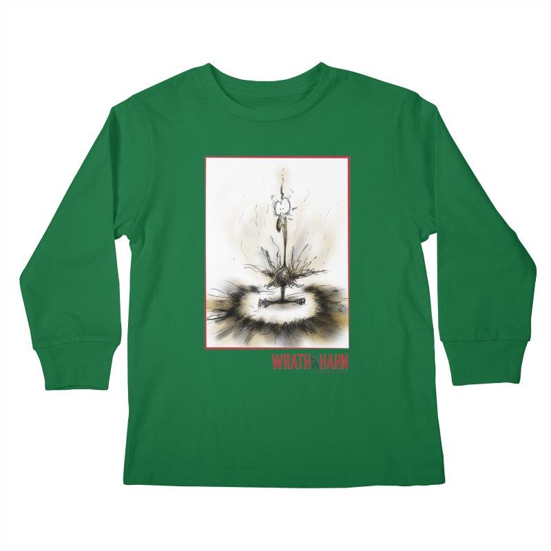 KaboomBirdie Kids Longsleeve T-Shirt by wrathofhahn's Artist Shop