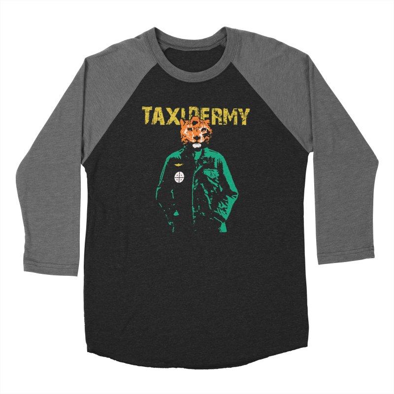 TAXIDERMY Men's Baseball Triblend Longsleeve T-Shirt by wreckenroll's Artist Shop