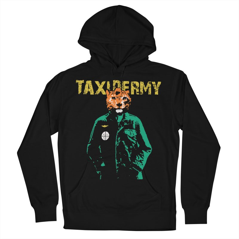 TAXIDERMY Men's French Terry Pullover Hoody by wreckenroll's Artist Shop